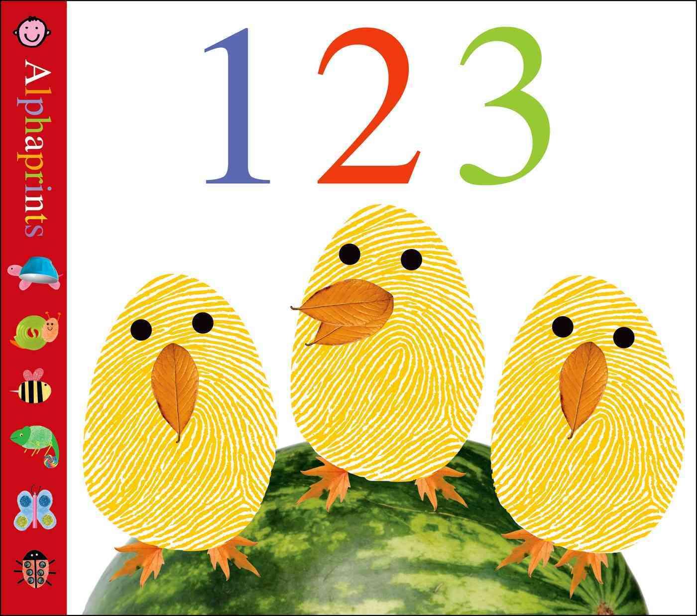 Alphaprints: 123 By Priddy, Roger